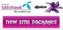 Telenor Talkshawk & Djuice New SMS Packages