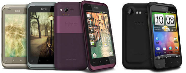 HTC Ryhme and Incredible-S Smartphones