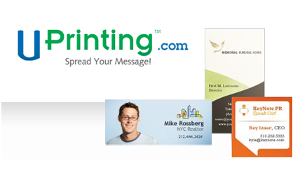 Free Business Cards - Uprinting